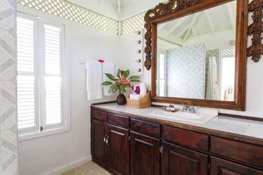 La salle de bain de la Deluxe 1 chambre