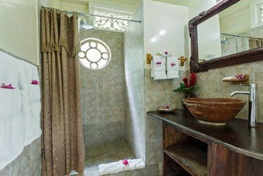 La salle de bain du cottage 1 chambre