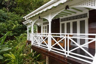 L'architecture coloniale du cottage deux chambres
