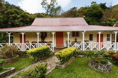 L'extérieur du cottage deux chambres