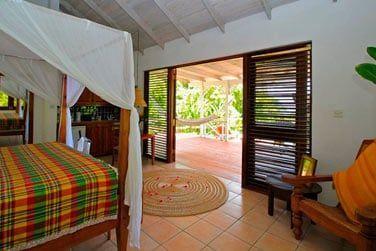 Votre chambre donnant sur une terrasse privative