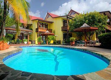 Le Lily Ginger est un véritable petit hôtel de charme situé dans le Nord de L'ile de Sainte Lucie