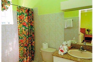 La salle de bain de l'une des chambres