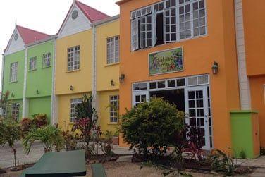 L'hôtel Habitat Terrace est situé au nord de Sainte-Lucie...