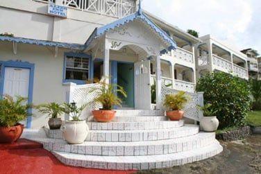 Petit hôtel situé à 15 min de Castries
