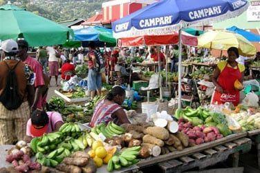 Visitez Castries, son marché et ses possibilités de shopping