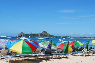 La plage, l'une des plus fréquentée de la région