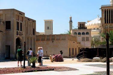 Dubaï c'est aussi un quartier historique