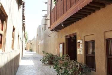 Rendez-vous au XVA Art Hotel, au coeur du quartier Bastakia