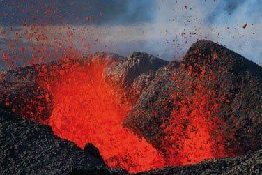 Si vous êtes chanceux, vous pourrez voir ce volcan (un des plus actifs au monde) en éruption !