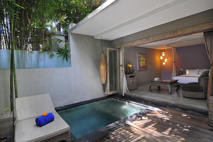 suite 1 chambre avec piscine