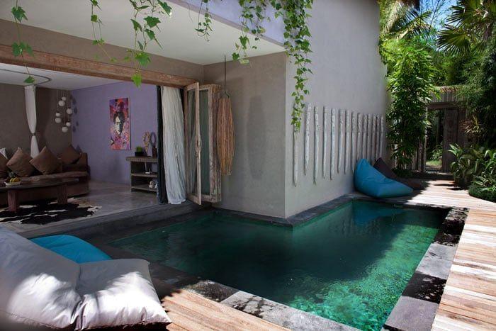 suite 2 chambres avec piscine