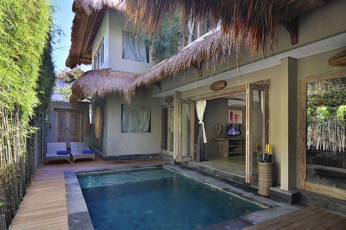 suite 4 chambres avec piscine