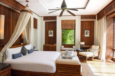 Une décoration balinaise imprégnée d'atmosphère seychelloise