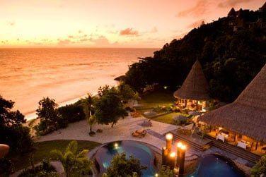 Le Maia est le lieu le plus luxueux et le plus exclusif des Seychelles