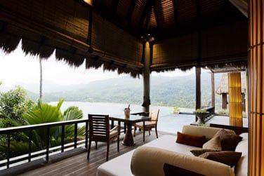 Un lieu propice à la détente où règnent calme et tranquillité
