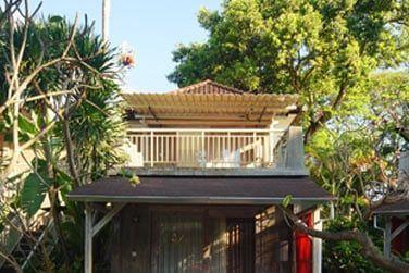 Voici les bungalows, entourés de végétation, pour un séjour en toute tranquillité...