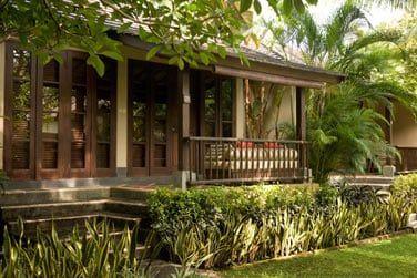 Ces bungalows vous garantissent la plus grande intimité.