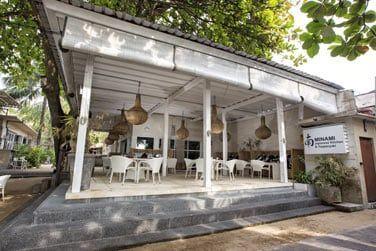 Le restaurant Japonais Minami By the Beach situé en front de mer.