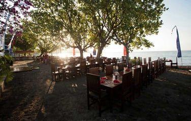 Les restaurants Nakula et Sahadewa