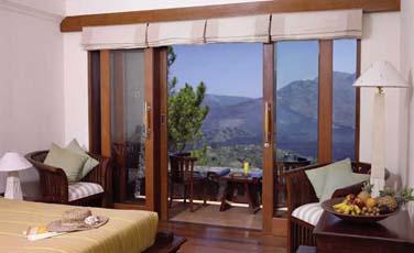 offrant une superbe vue sur le Mont Batur