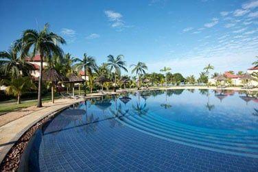 Petits et grands seront ravis par les grandes piscines de l'hôtel
