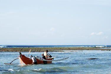 Observez les pêcheurs locaux..