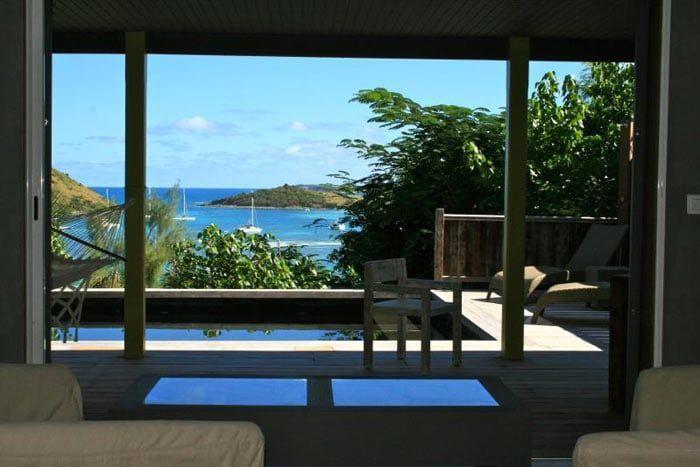 suite premium vue mer avec piscine privée