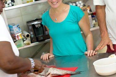Vous pourrez aussi participer à un cours de cuisine créole