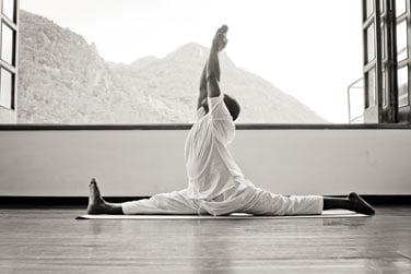 Des séances de yoga sont également organisées