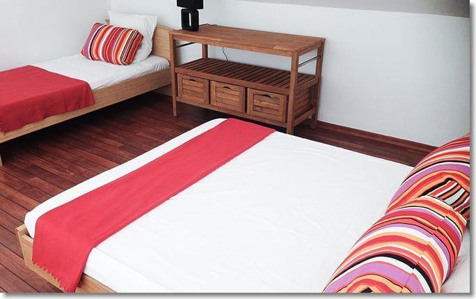 Chambre avec lit supplémentaire