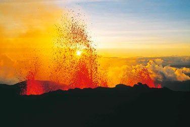 L'un des volcans les plus actifs au monde