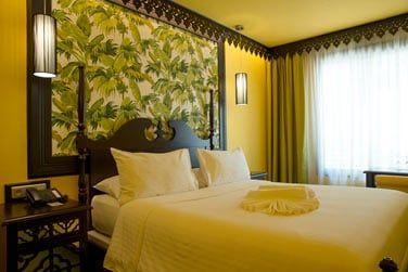 La décoration est personnalisée pour chaque chambre