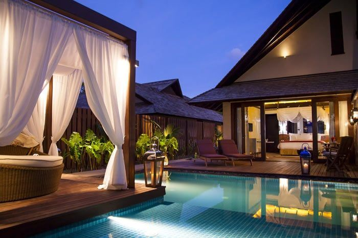 grand villa plage avec piscine