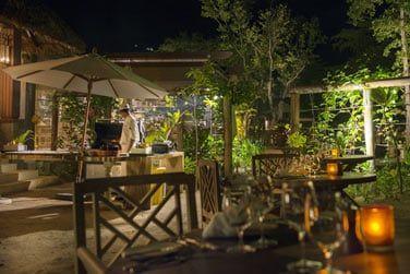 Le restaurant Eden, pour un dîner romantique en bord de plage