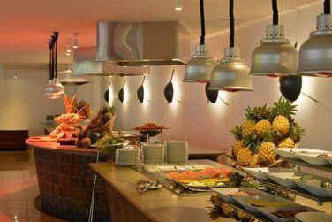 Buffet coloré au restaurant Mozaik
