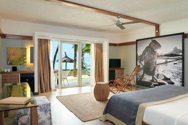 La Suite Executive front de mer avec son accès direct à la plage