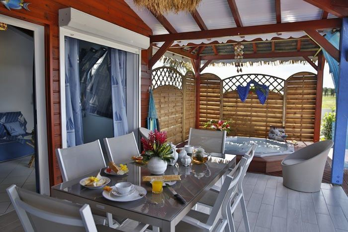 villa avec spa (1 chambre, bain à remous)