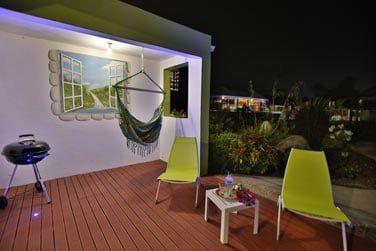 Votre terrasse pour une soirée barbecue