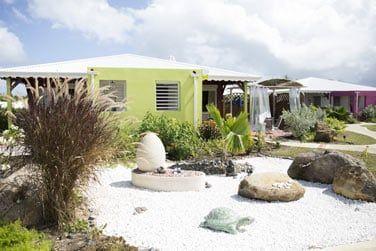 3 villas sont équipées d'un bain à remous privatif !