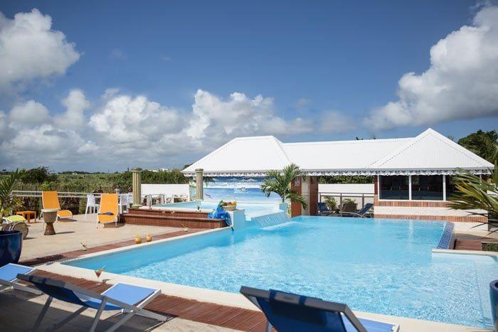 Hôtel La Palmeraie Dorée, Guadeloupe