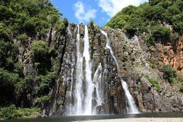 De nombreuses cascades témoignent d'une nature généreuse
