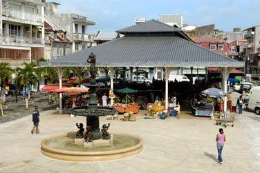 Pointe à Pitre et son marché