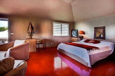 Les chambres sont décorées avec soin