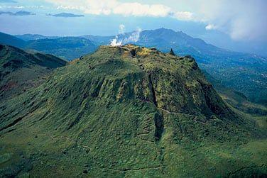 Le Volcan de la Soufrière à Basse terre