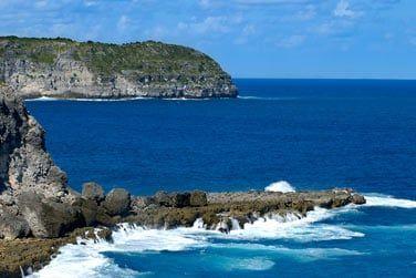 La pointe de la Grande Vigie et ses falaises abruptes au Nord