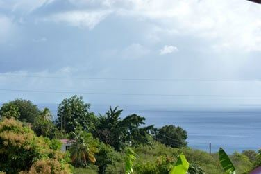 Vue mer depuis la Villa Galante