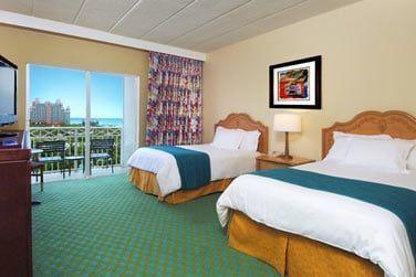 Les chambres offrent une vue sur le resort
