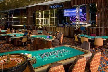 Le casino, l'un des plus grands des Caraïbes