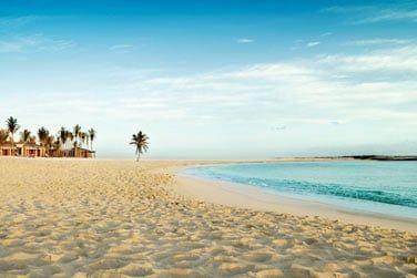 L'une des nombreuses plages du resort